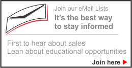 Join Our Email Lists