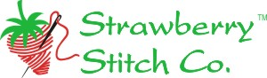 Strawberry Stitch Co. logo